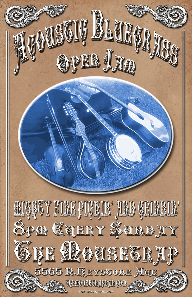 Acoustic Bluegrass Open Jam -EVERY SUNDAY