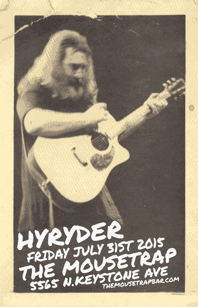 Hyryder- Jerry Garcia 73rd Birthday Eve